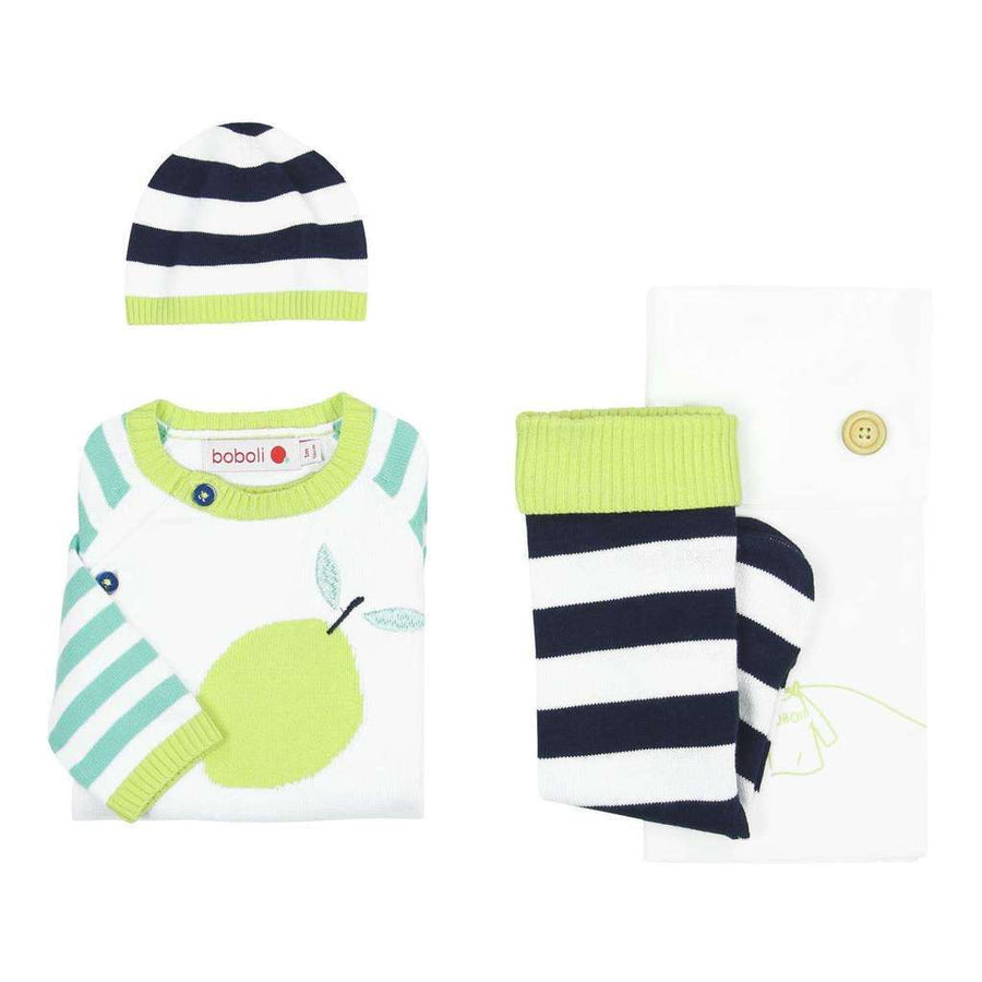 Boboli-Pack knitwear for baby-147002-1100 WHITE