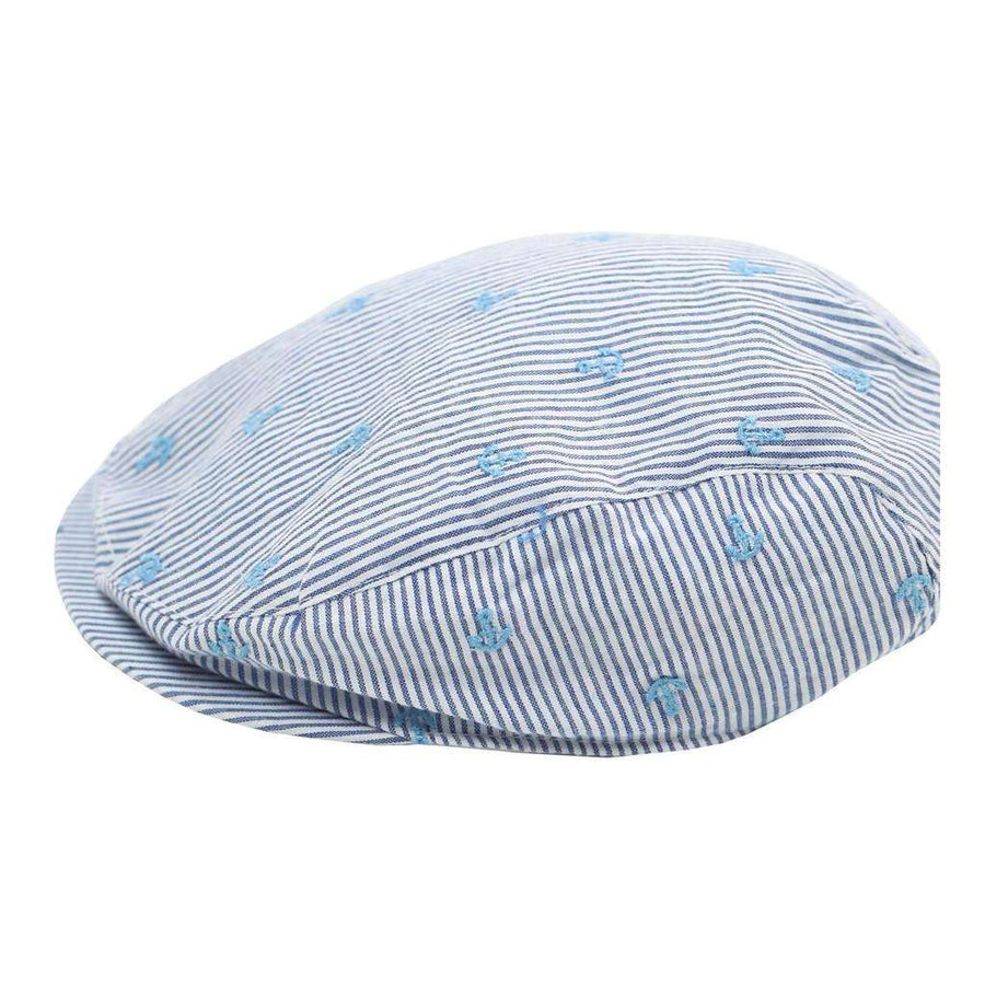 Stripes Poplin Cap