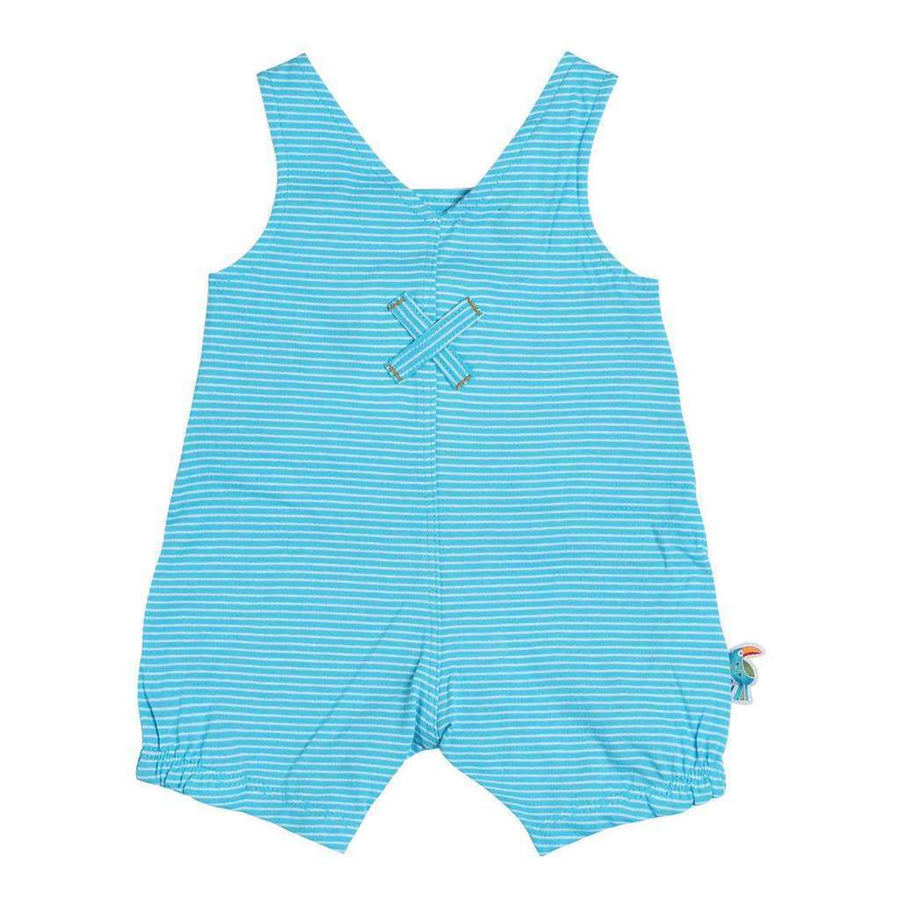 Boboli-Short dungarees knit for baby boy-137034-9011 stripes