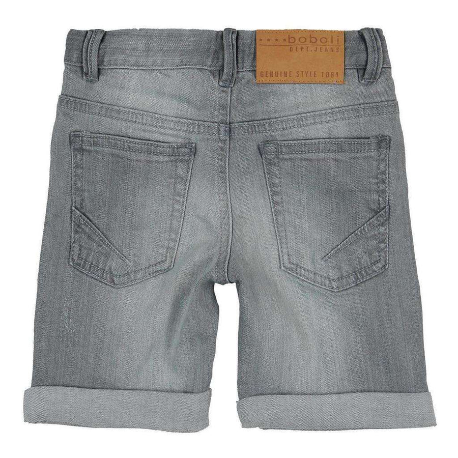 boboli-grey-stretch-denim-bermuda-shorts-517137