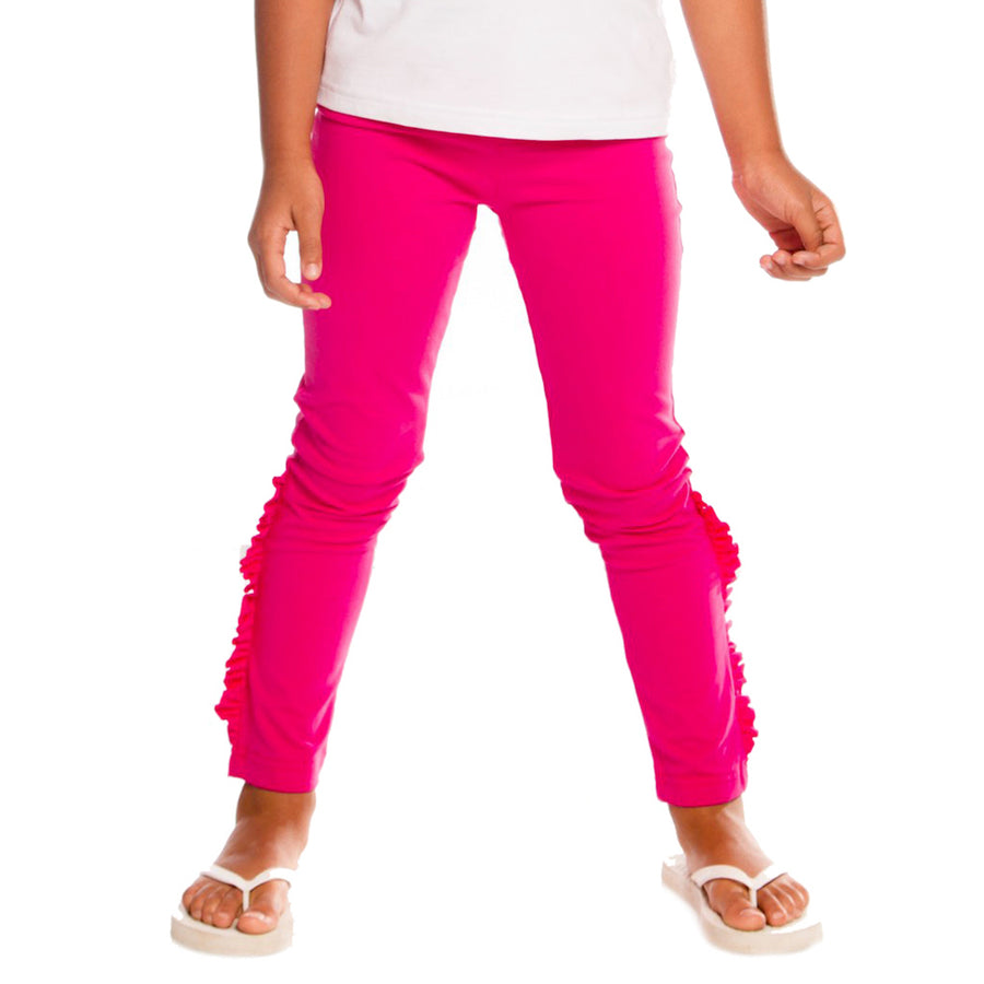 Deux Par Deux Fuschia Purple Leggings-a30j60-647-