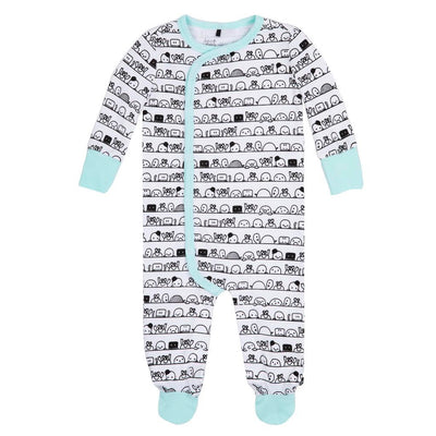 DPD-Printed Sleeper Organic Cotton-A30A40-784 Soothing Sea