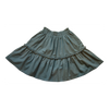 VICTORIA ROAD-THE LACI SKIRT-VR-GSKRT-105-NAVBD NAVY W/ BEADED FRINGE