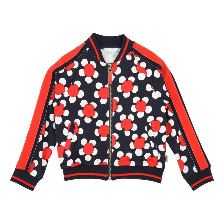Little Marc Jacobs Red/Blue Navy Cardigan Suit