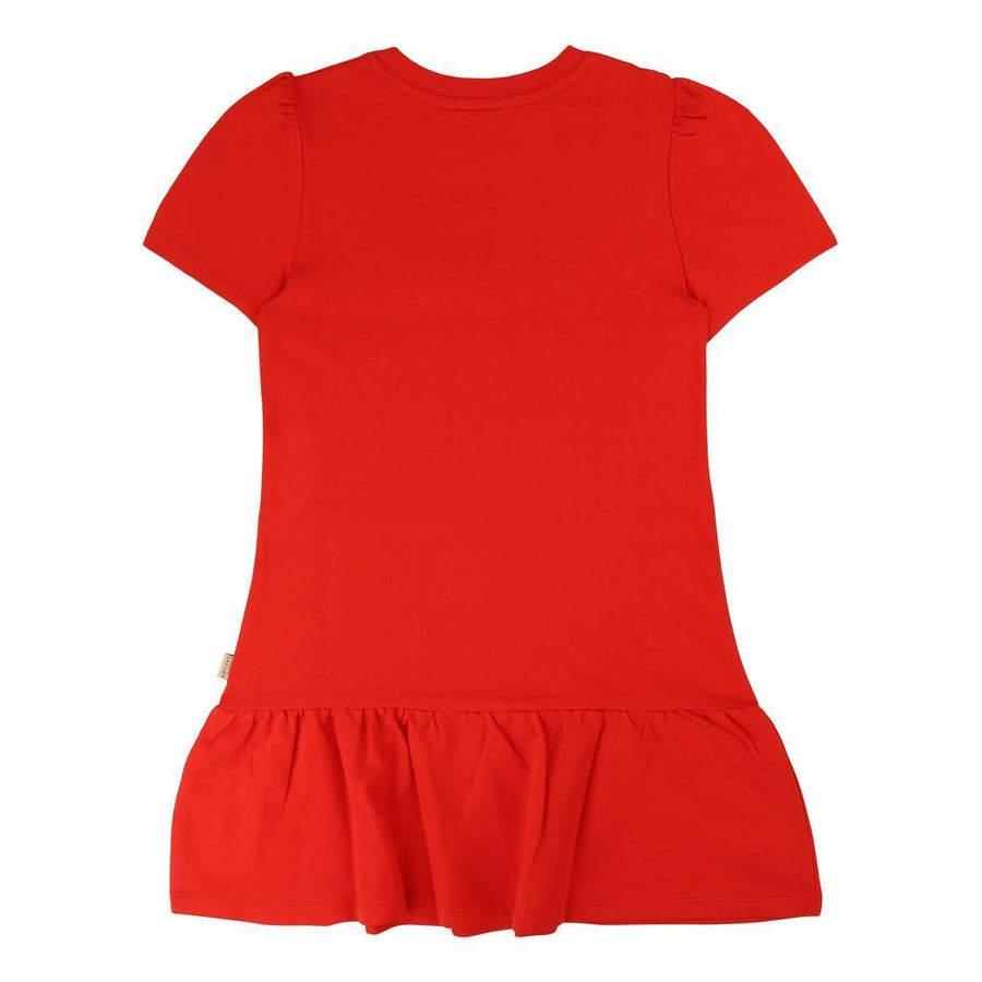 Little Marc Jacobs Bright Red Dress