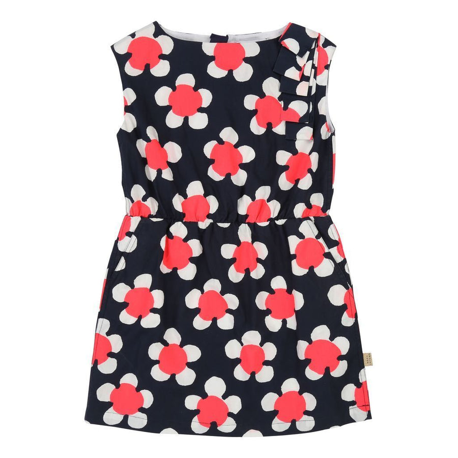 Little Marc Jacobs Floral Pleated Dress