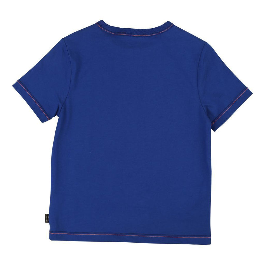 Little Marc Jacobs Electric Blue T-Shirt