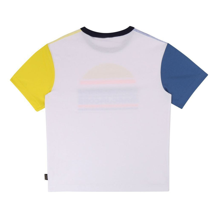 Little Marc Jacobs White/Yellow T-Shirt