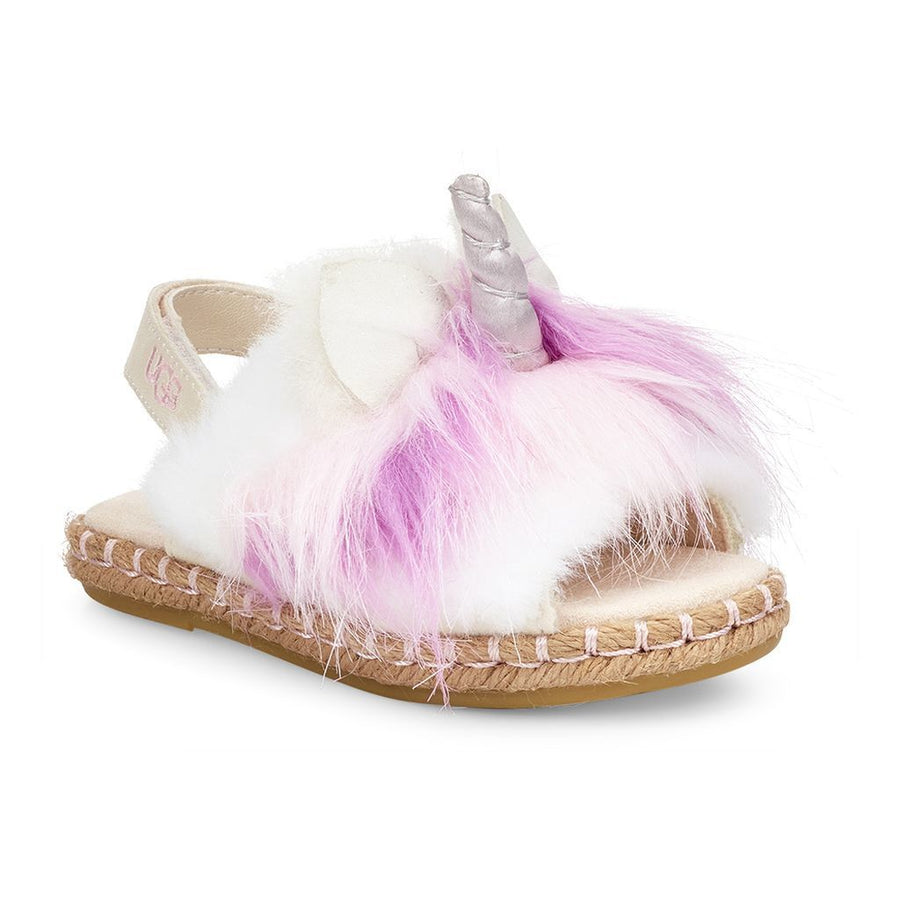 UGG MULTI-COLOR RAINBOW UNICORN SANDAL