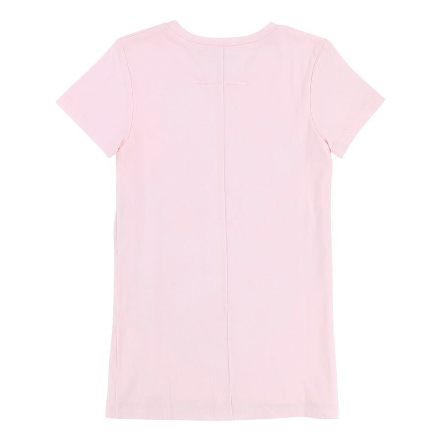 Givenchy Pink Short Sleeve Snake Dress-h12044-462-