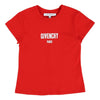 Givenchy Red Logo Short Sleeve T-Shirt-h15039-991-