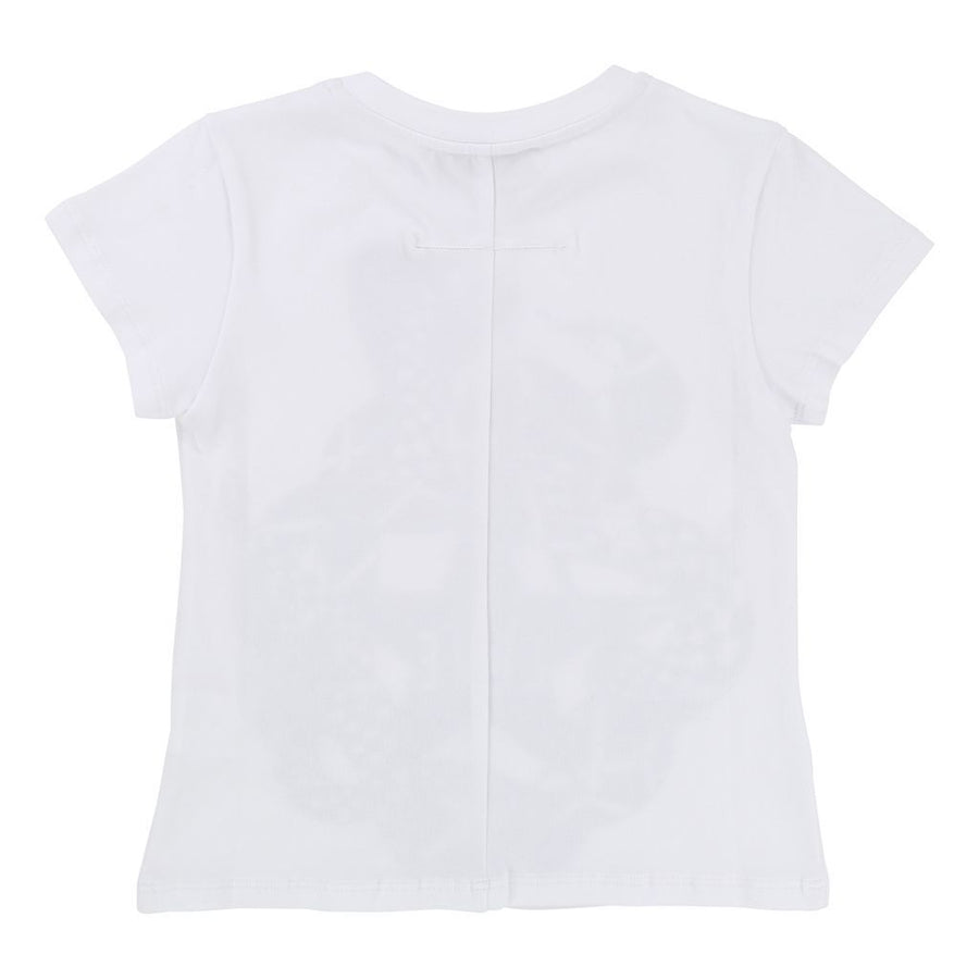 Givenchy White Snake Short Sleeve T-Shirt-h15040-10b-