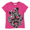 Givenchy Magenta Snake Short Sleeve T-Shirt-h15040-49e-short-