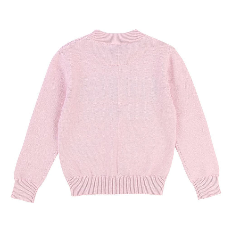 "Givenchy Pink ""I Feel Love"" Long Sleeve Pullover-h15052-462-"
