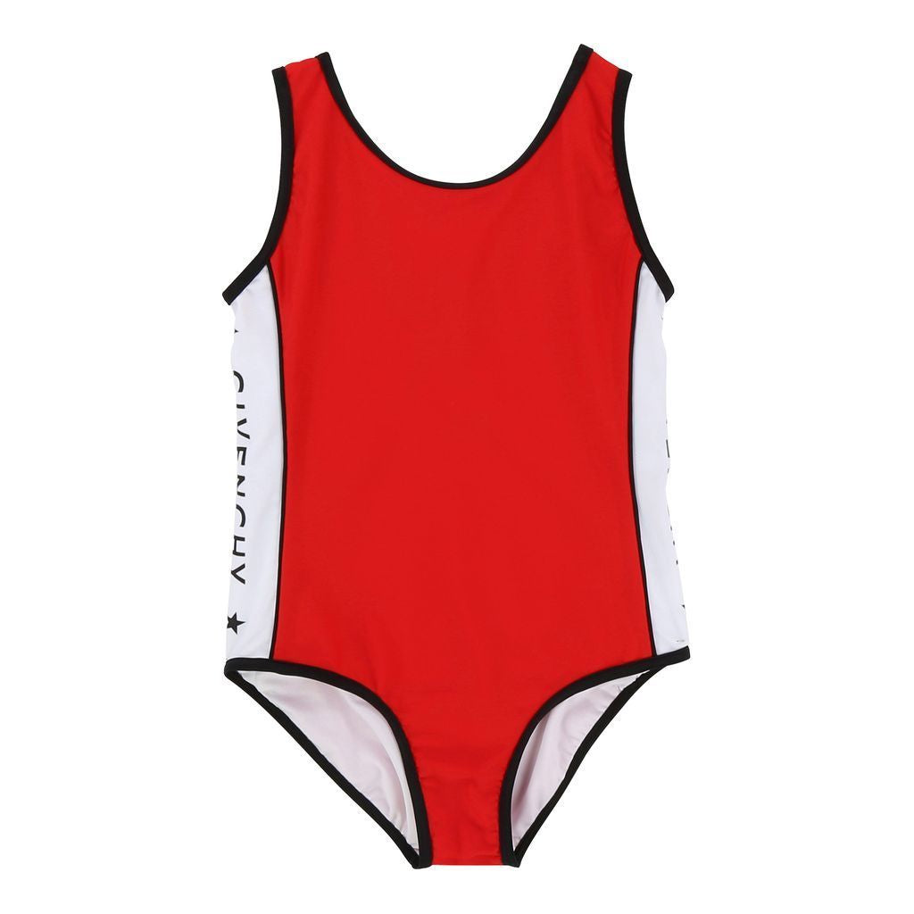 baeae3fd4ea0f Givenchy Red Logo Tape Swimsuit - kids atelier
