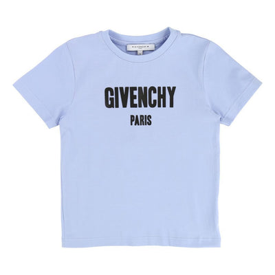 Givenchy  Pale Blue Logo Short Sleeve T-Shirt-h25030-77d-