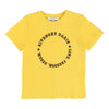 Givenchy Yellow Circle Logo Short Sleeve T-Shirt h25033-516-