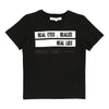 "Givenchy Black ""Realize"" Short Sleeve T-Shirt-h25034-09b-"