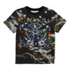 Givenchy Green Airplane Propeller Short Sleeve T-Shirt h25037-09b-
