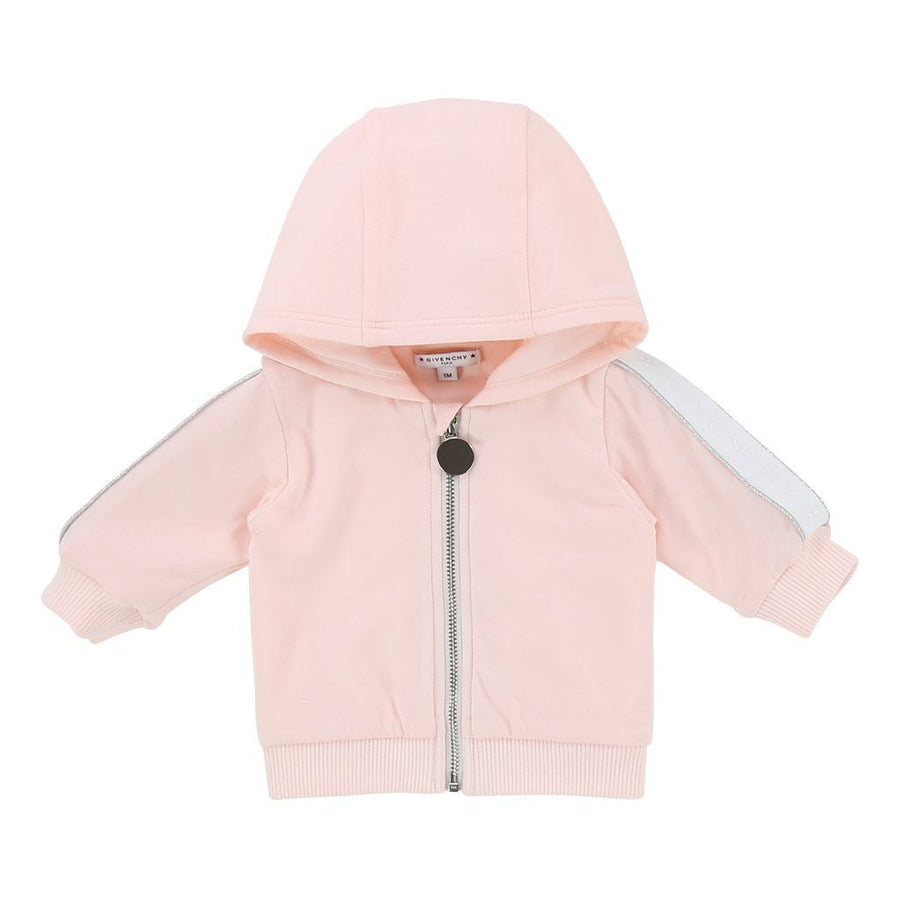 GIVENCHY LIGHT PINK TRACK SUIT SET-h98020-45s-