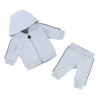 Givenchy Light Blue Track Suit Set-h98020-771-