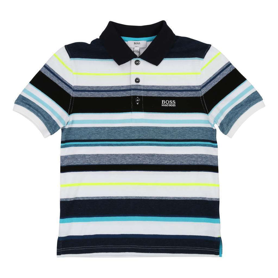 8b70fb96 Boss Multicoloured Short Sleeve Polo j25d49-z41