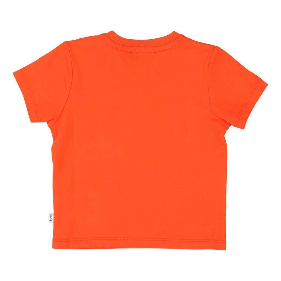 BOSS-SHORT SLEEVES TEE-SHIRT-J05718-982 POPPY