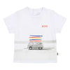 BOSS-SHORT SLEEVES TEE-SHIRT-J05719-10B WHITE