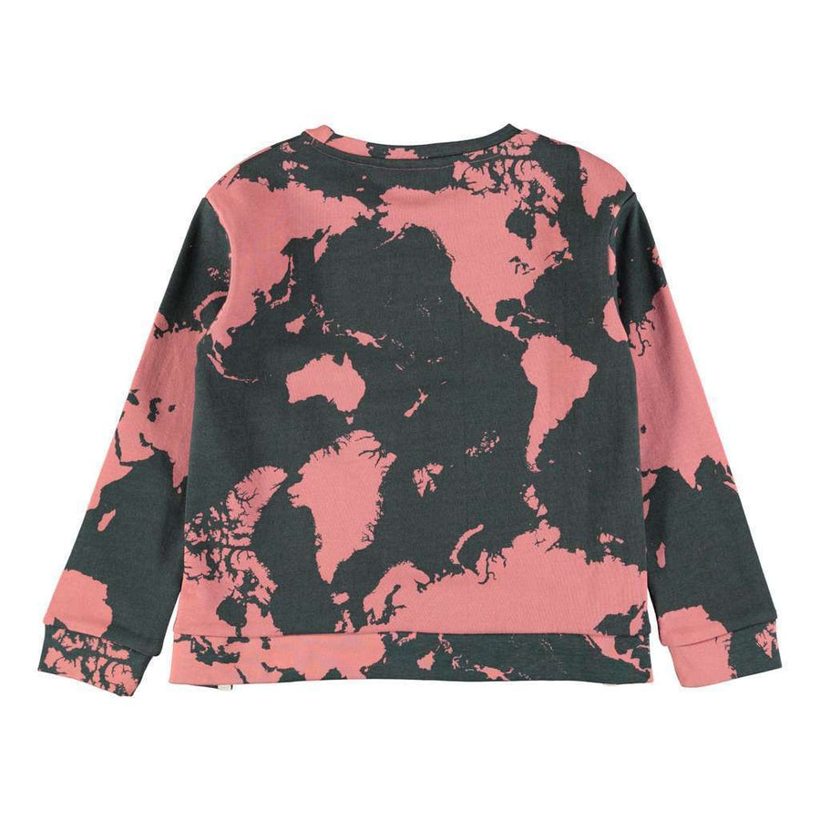 Molo Malissa World Map Sweatshirt