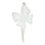 White Small Butterfly Headband