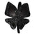 Black Big Butterfly Headband