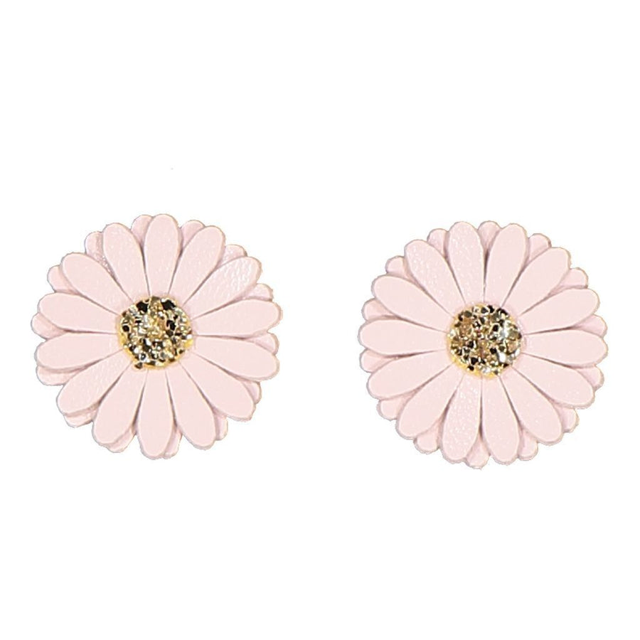 IllyTrilly Pink Daisy Earrings