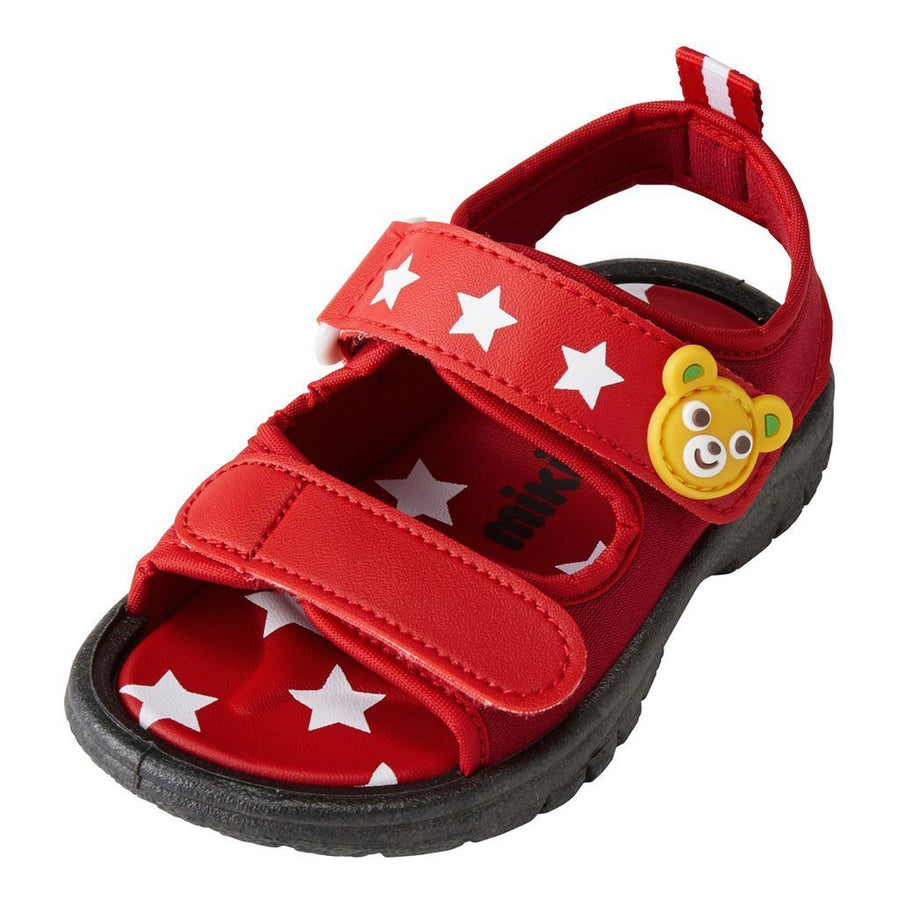 Miki House Red Star Sandals