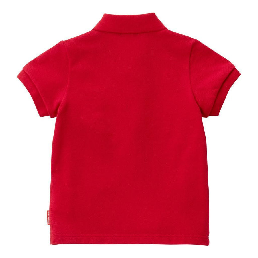 Miki House Red Polo Shirt