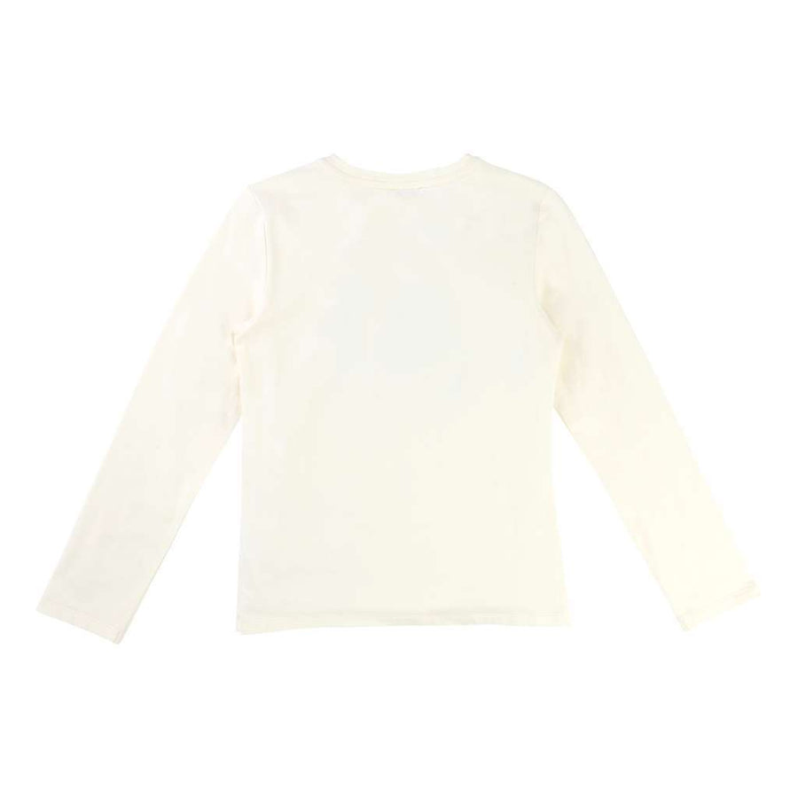 karl-lagerfeld-cream-t-shirt Z15038-519-08A