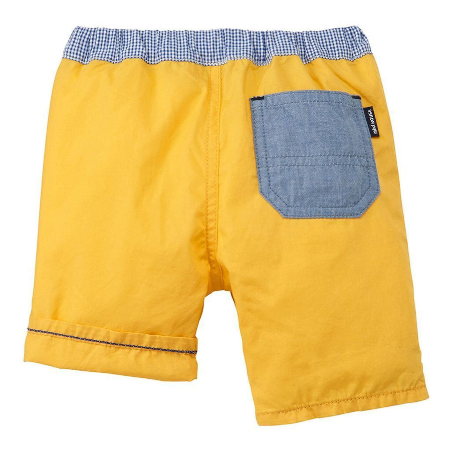 Miki House Yellow Shorts