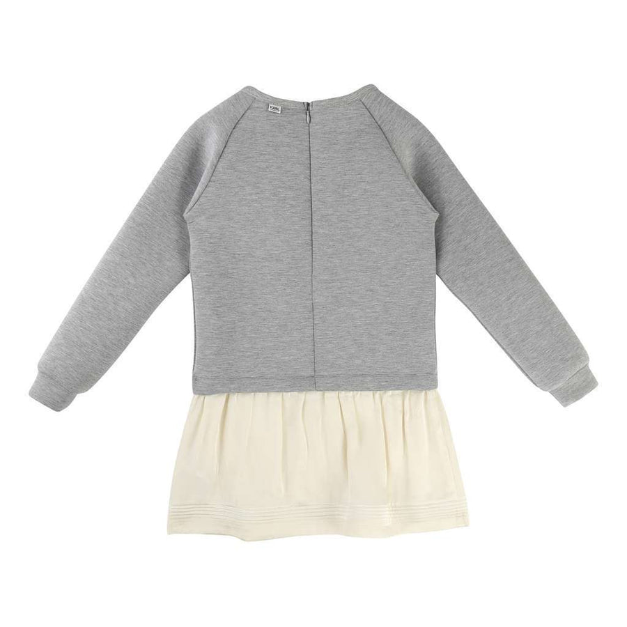 Karl Lagerfeld Gray Sweater Dress