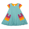 milktology-teal-rainbow-sleeve-bubble-dress-milk348