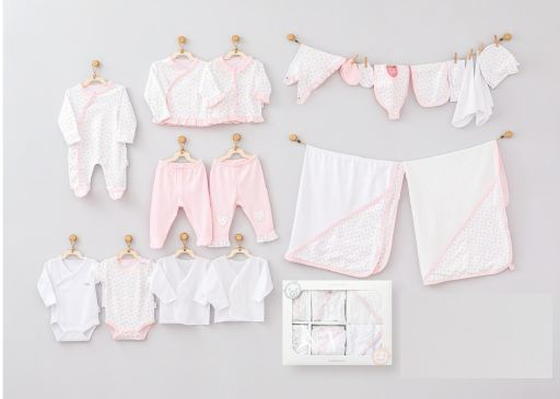 Andy Wawa Mom's Heart Baby Cottons 10 PC Set