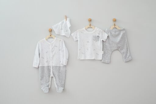 Andy Wawa Monk Seal Baby Cottons 4 PC Set
