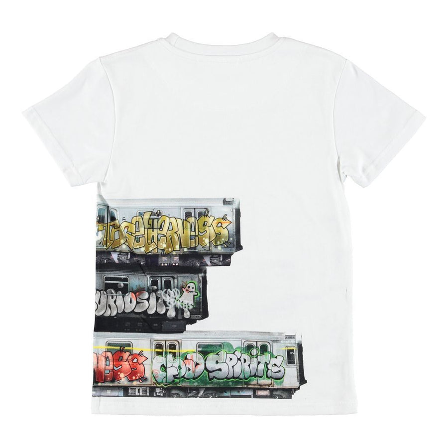 MOLO-T-SHIRTS SS-1W19A214-6007 SUBWAY STRIPE