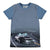 MOLO Blue Raven Self Driving Police T-Shirt