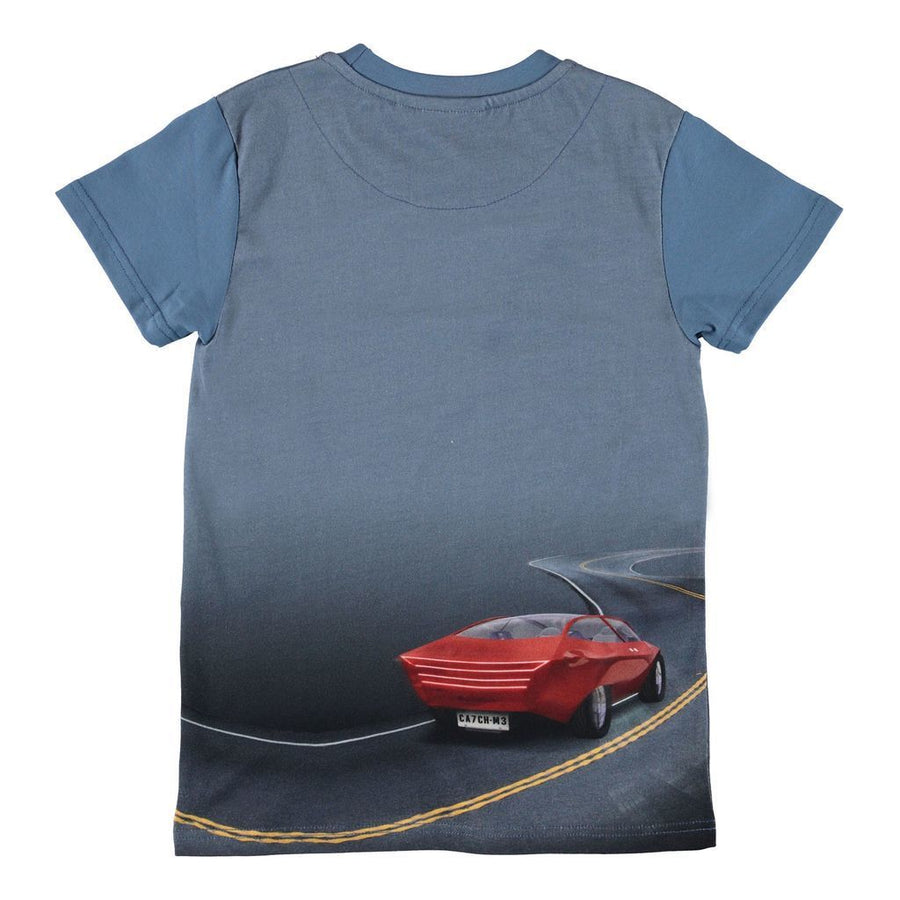 MOLO-T-SHIRTS SS-1W19A214-7072 SELFDRIVING POLICE