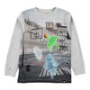 MOLO-T-SHIRTS LS-1W19A404-7023 GHOST BASKET