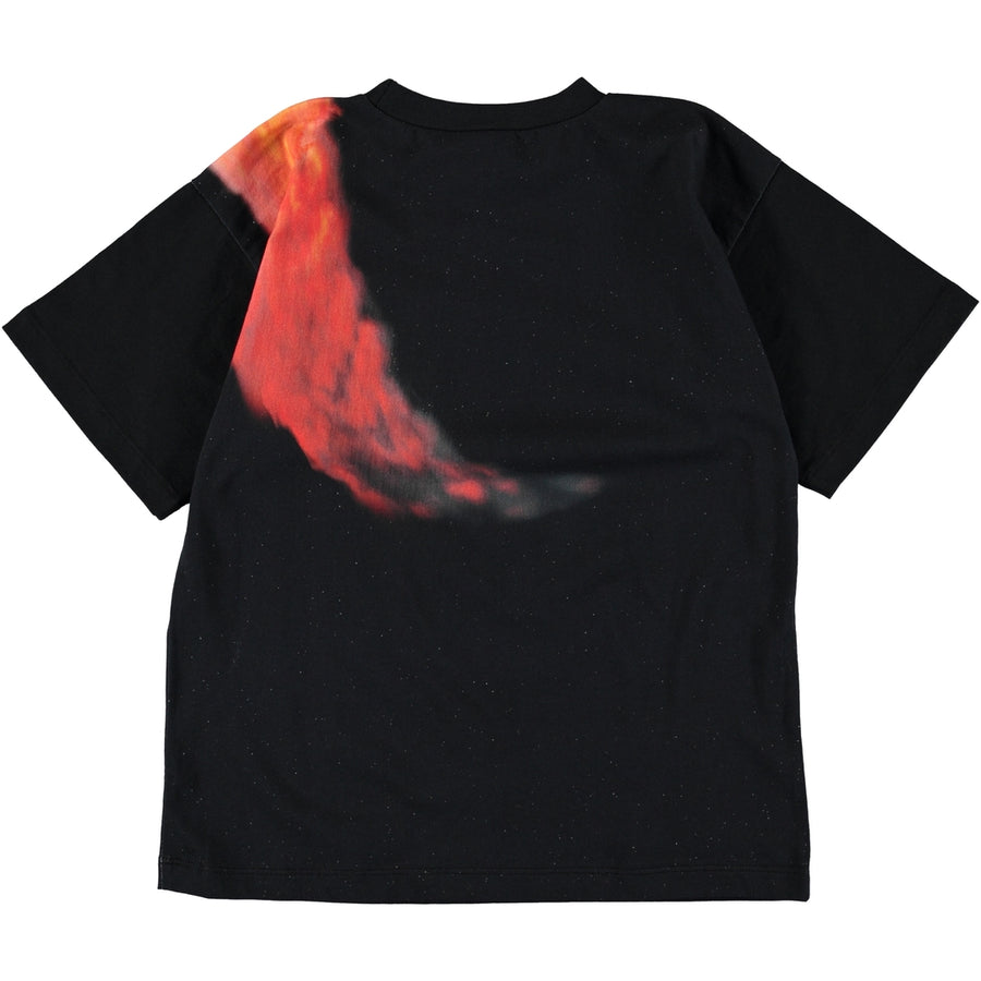 Molo Black Football Comet T-Shirt