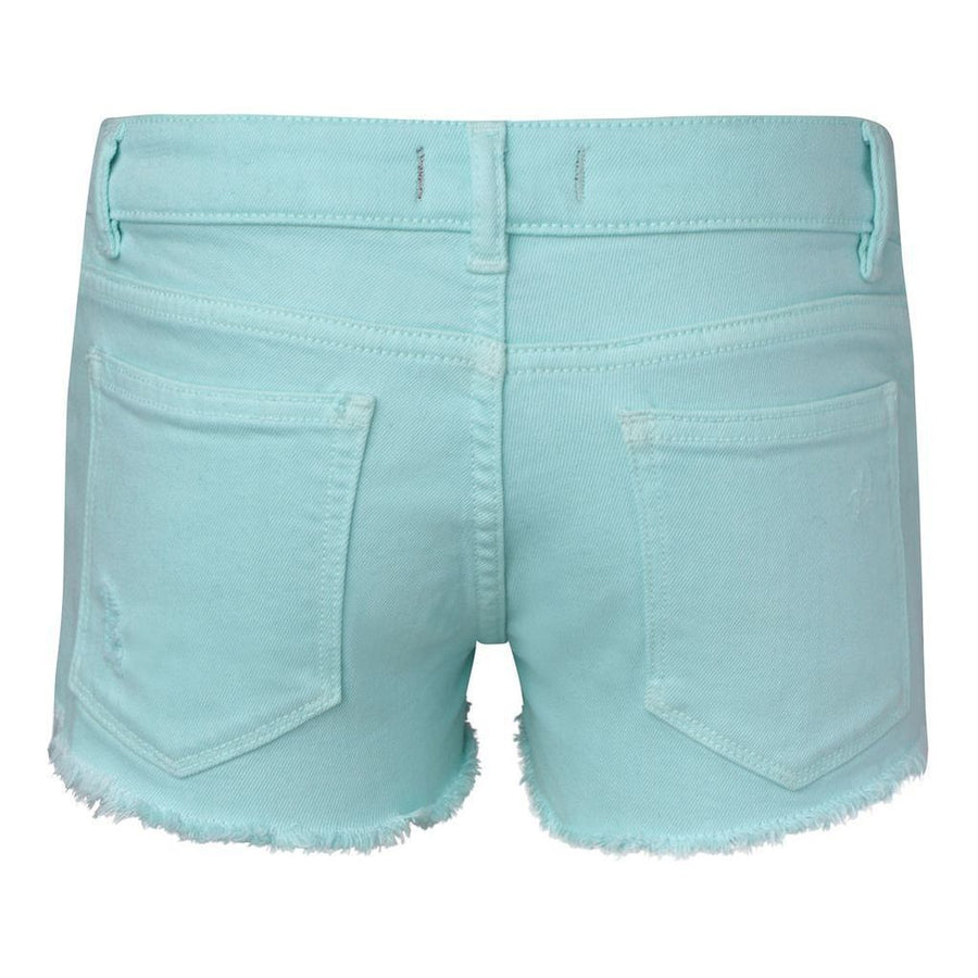 DL1961 Bleached Aqua Lucy Shorts