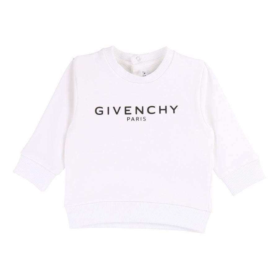Givenchy White Sweatshirt