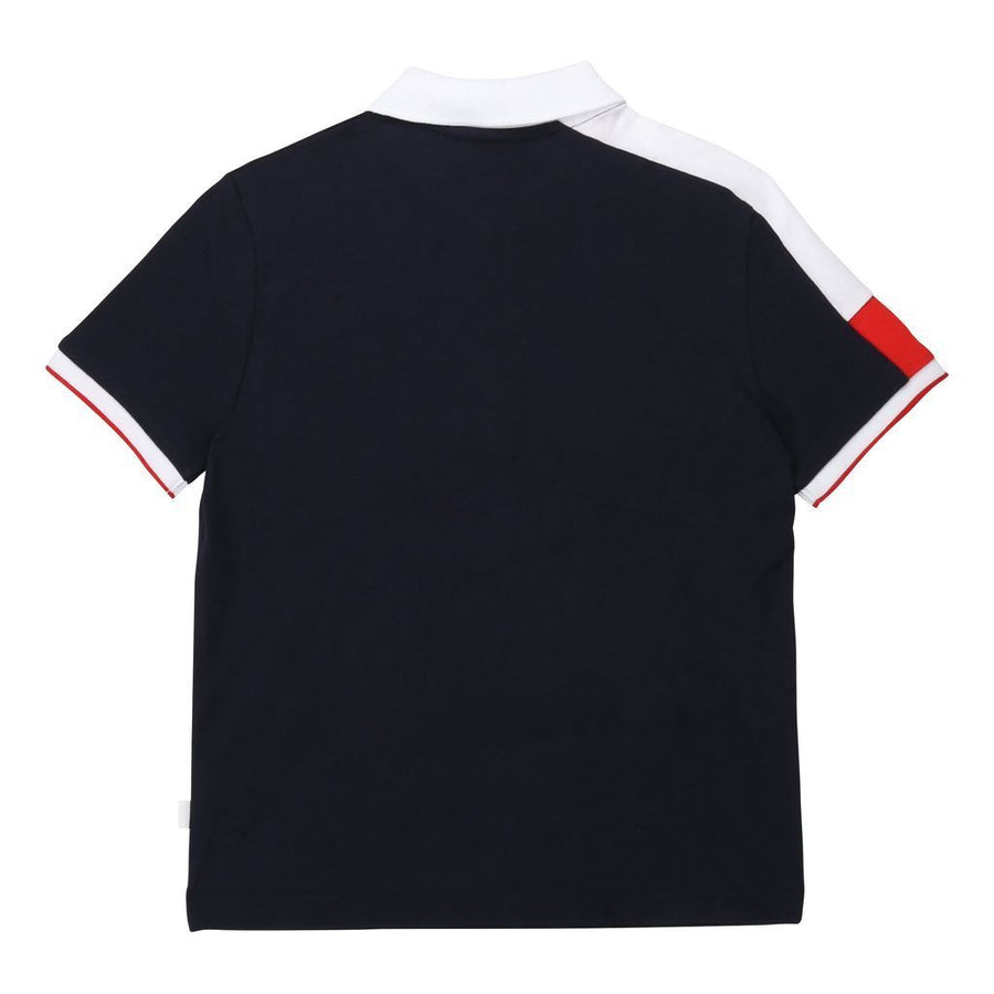 boss-navy-short-sleeve-polo-j25e29-849