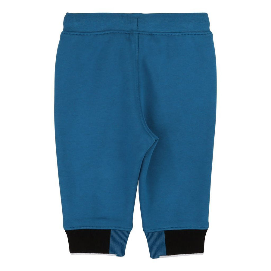 Boss Electric Blue Logo Jogging Bottoms