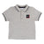 Light Gray Short Sleeve Polo